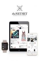 Net-a-porter´s presentation of the new shopping-app 'the net set'