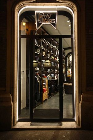 New opened Roy Roger's boutique in Rome in Via del Babuino 153