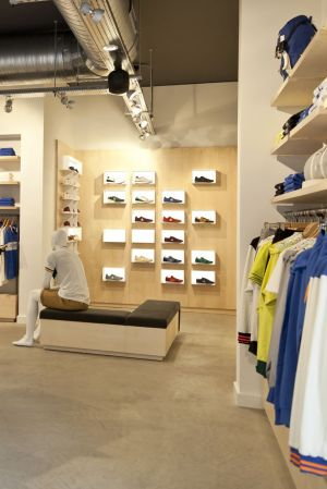 New Le Coq Sportif flagship in London just opened.