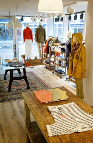 New Woolrich store in Sylt