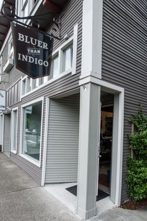 New store in Portland: Bluer than Indigo