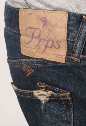 One of the exhibitors in White Milano's premium denim area: PRPS