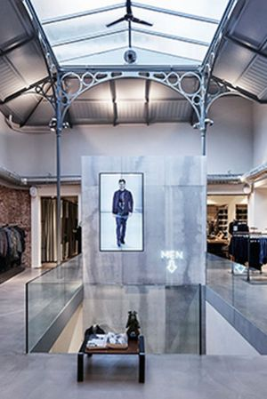 One of G-Star RAW´s stores