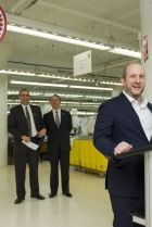 Opening of new Canada Goose factory