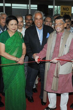 Opening of the India International Garment Fair