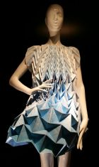 Origami dress by Jule Waibel for Bershka
