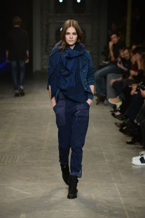Outfit from the Trussardi jeans collection