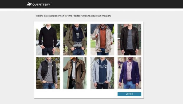 Outfittery's men survey: 'which styles do you prefer for your leisure time?'