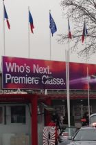 Outside of the Who's Next Premiere Classe venue