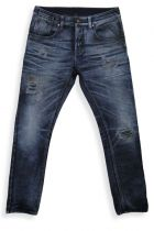 Pair of denims from the capsule collection Hub25 made with ITV