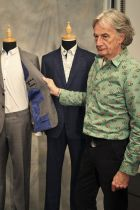 Paul Smith with CW garments