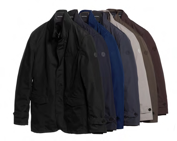 People of Shibuya jackets contain an inner detachable feather layer that can also be worn separately
