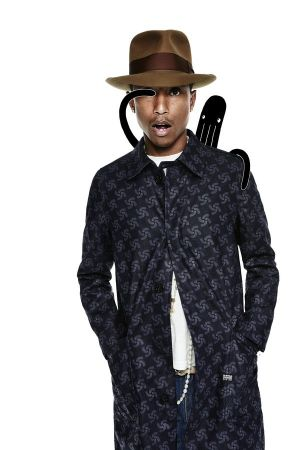 Pharrell Williams in the RAW for the Oceans collection