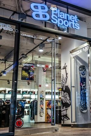 Planet Sports retail store