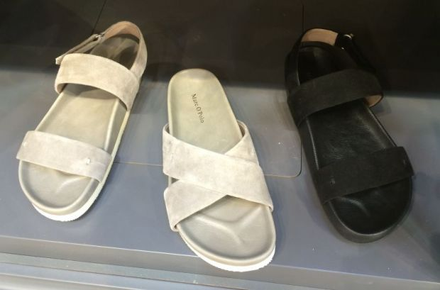 Popular: Comfort sandals, here at Marc O'Polo