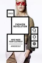 Poster advertising the Fashion Revolution Day