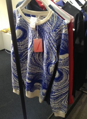 Printed sweatshirt at L'Herbe Rouge