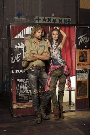 Promotional image of the Denim & Supply RL collection