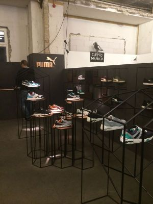 Puma showed sneakers