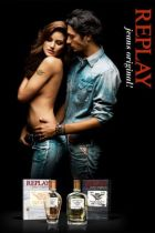 Replay campaign for the Jeans Original! fragrance