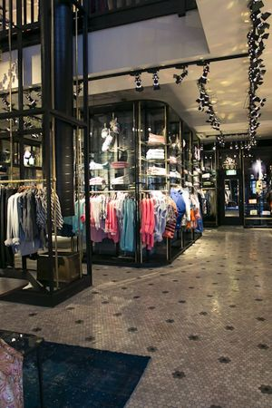 Retail space of Scotch & Soda