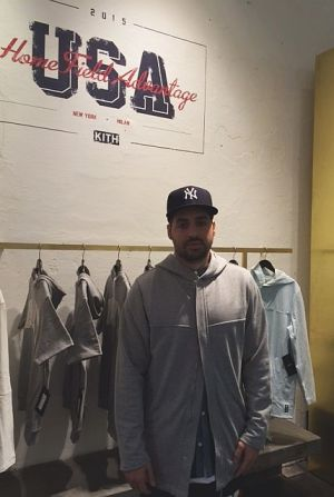 Ronnie Fieg last week at the Slam Jam store