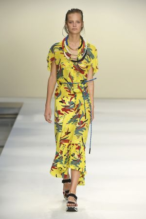 Runway look at Marni