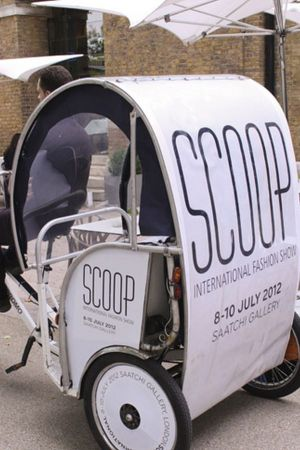 Scoop first time in new venue: satisfied.