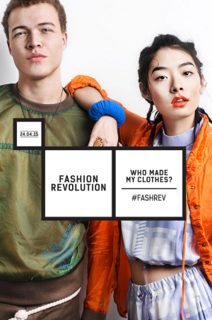 Screenshot of the website 'fashionrevolution.org'