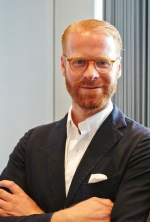 Sebastian Klinder, CEO of Munich Fabric Start