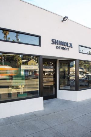 Shinola's LA store from the outside