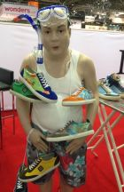 Shoe Republic booth at GDS