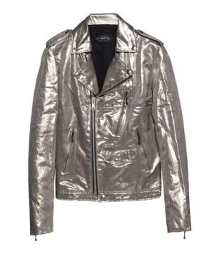 Silver jacket from April77's Archive collection