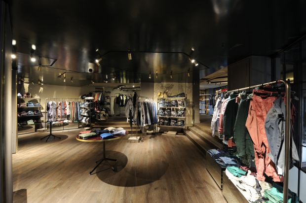 Sisley concept store in Milan from the inside