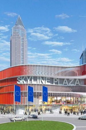 Skyline Plaza opens in Frankfurt.