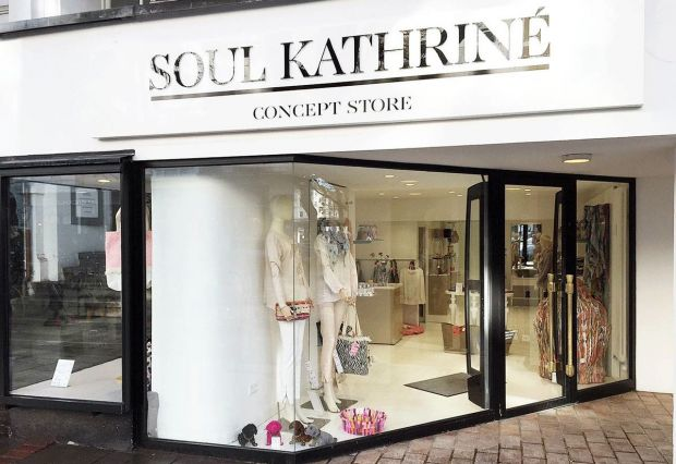 Store front of the Soul Kathriné store in Hamburg