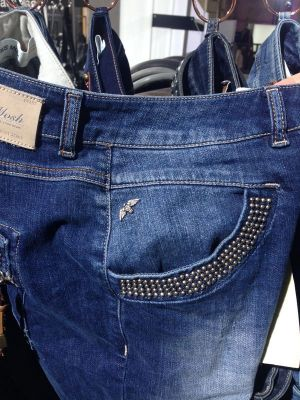 Studded denims by Mos Mosh