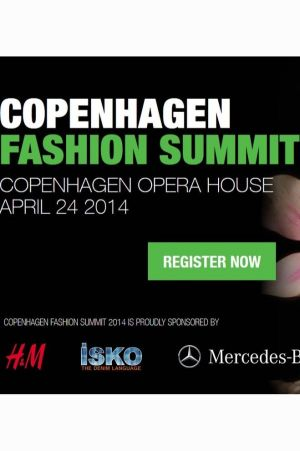 Sustainability in fashion will be the main topic at the summit