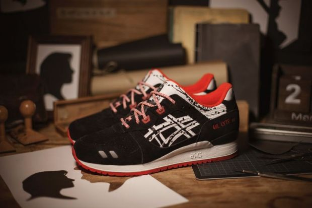 The Gel-Lyte III ´Papercut` by Asics Tiger x Titolo Shop