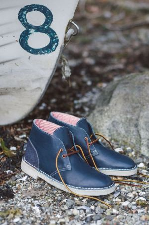 The Herschel Supply and Clarks Originals Desert Boot