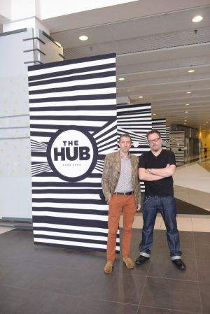 The Hub founders Peter Caplowe (l.) and Richard Hobbs