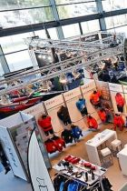 The 'Paddling & Watersports' village at one of the ISPO trade shows
