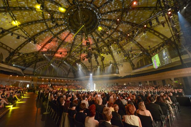 The Realstars Gala event in Frankfurt/Main´s ´Festhalle´