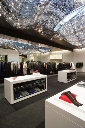 The White Gallery offers luxury as well as urban fashion