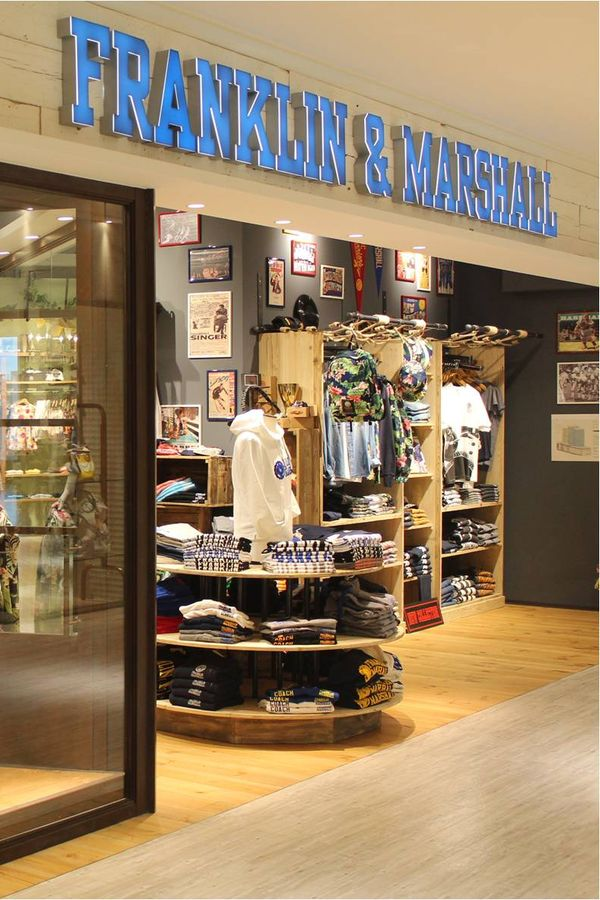 The second Franklin & Marshall flagship store in Osaka