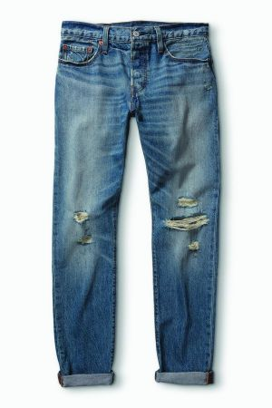 The 501® Customized & Tapered jeans