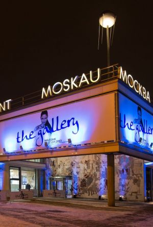 The Gallery was again hosted in Berlin's Café Moskau