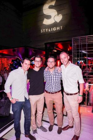 The Stylight founders (f. l.): Benjamin Günther, Anselm Bauer, Sebastian Schuon and Max Meier
