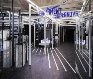 The Supernova space curated by Firmament and Nike