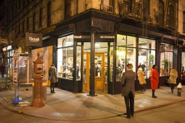 The Tictail pop-up shop in New York City